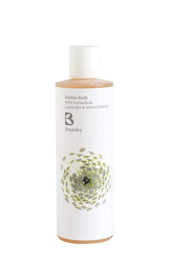 Bramley Body Wash 250ml Geranium, Lavender & Sweet Orange Bubble Bath