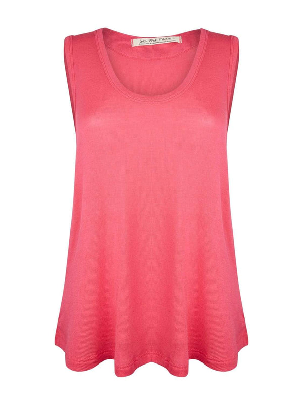 Free People Loungewear Take the Plunge Tank - Pink