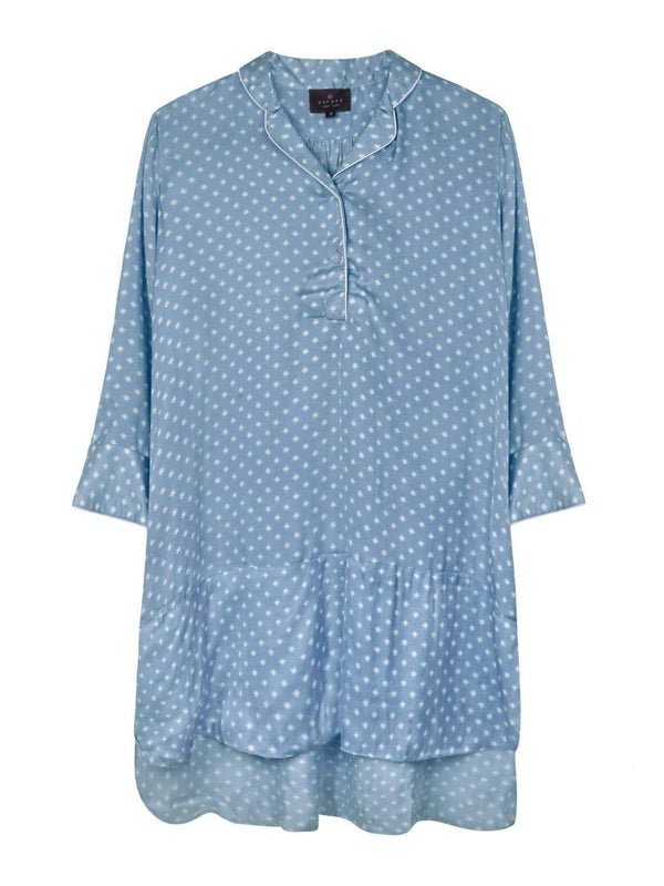 Kapara Sleepwear Blue Star Nightshirt