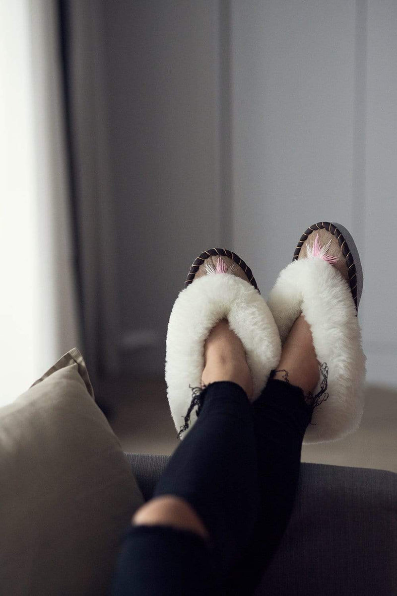 Sheepers Slippers Sen Rose Gold Slipper