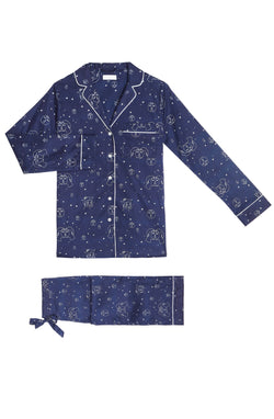 Yolke Pyjamas Navy Lovers Eclipse Pyjama