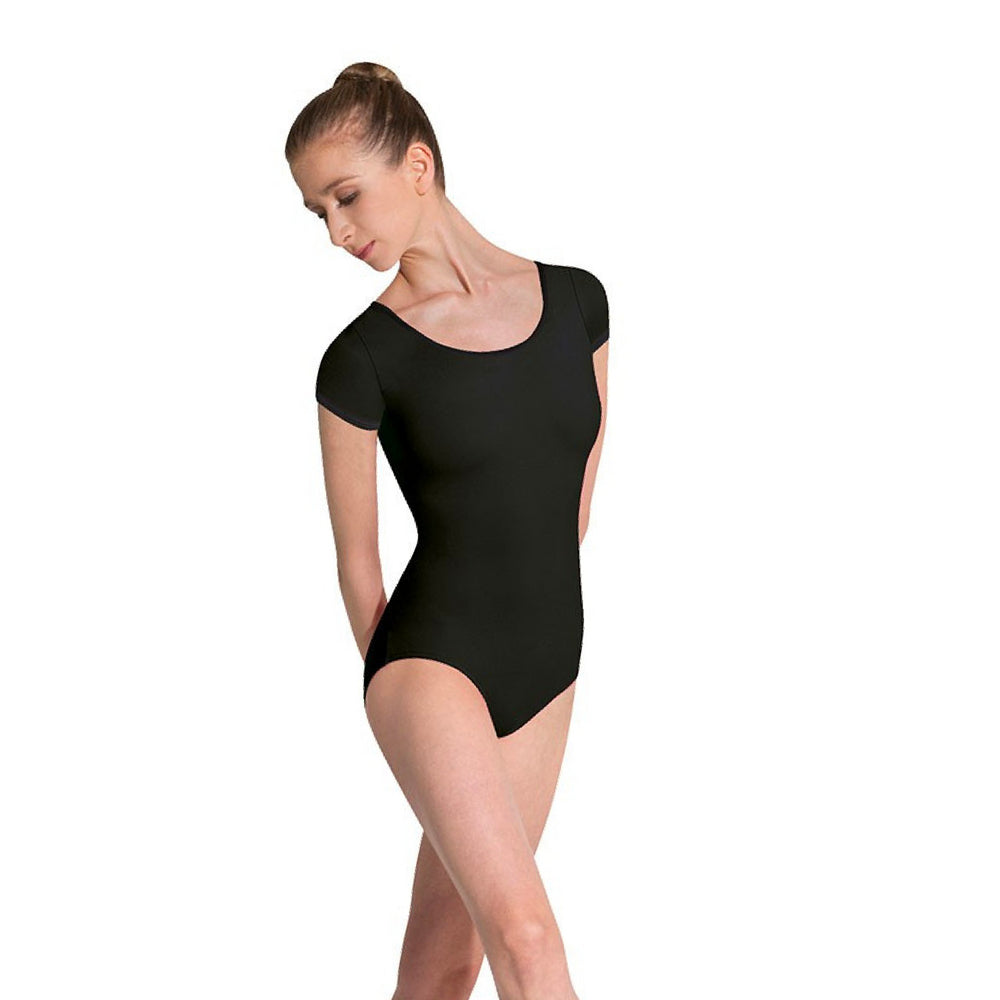 Capped Sleeved Leotard