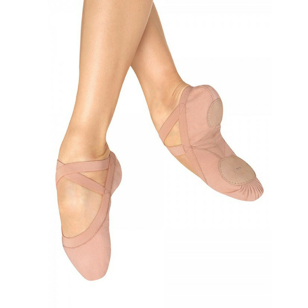 Bloch Pro-Elastic Canvas Ballet Shoes
