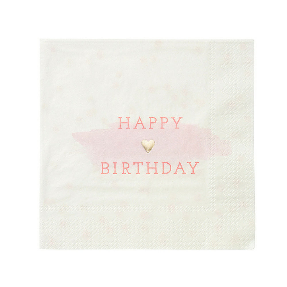 Happy Birthday Party Napkins