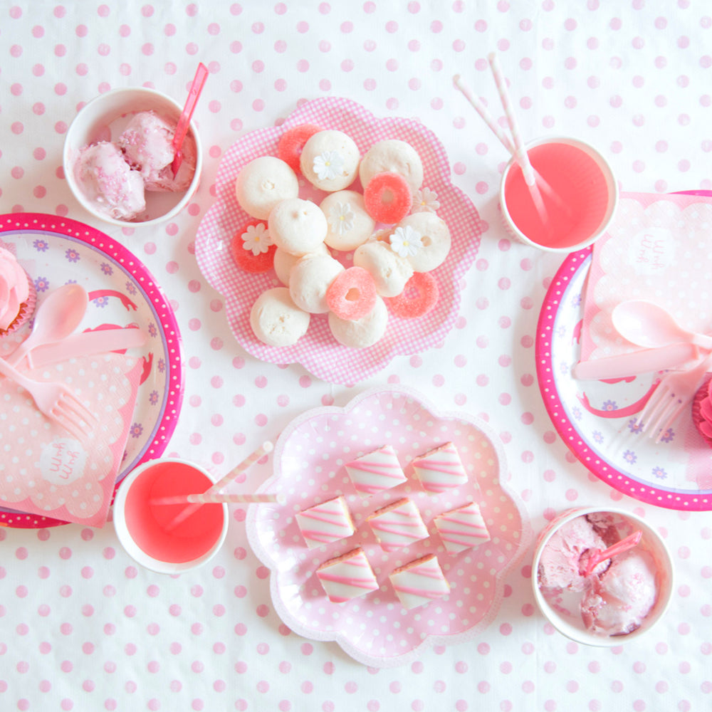 Pink & Pretty Party Plates