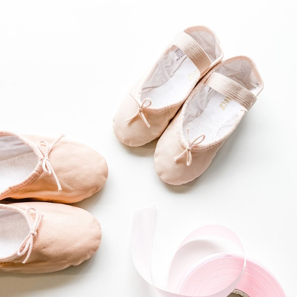 Junior Leather Ballet Shoes