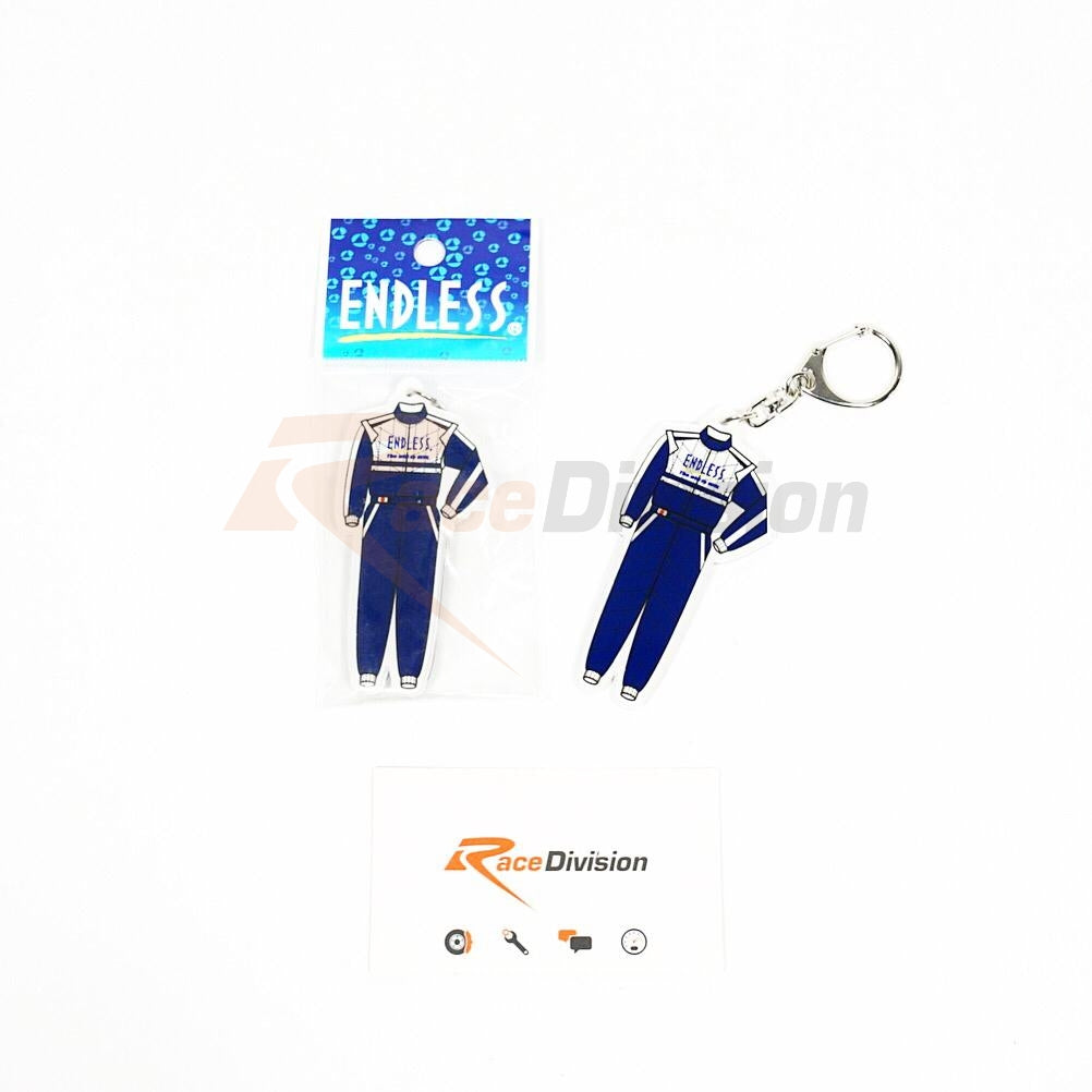 Endless Racing Suit Keychain