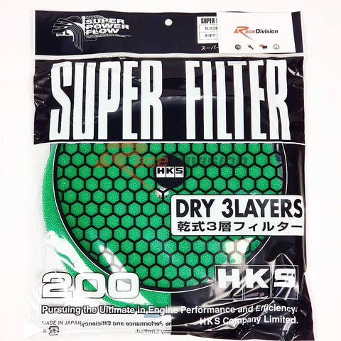 HKS, Replacement Filter Element (Green) - Race Division
