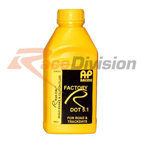 AP Racing, Factory R 5.1 Brake Fluid (500mL) - Race Division
