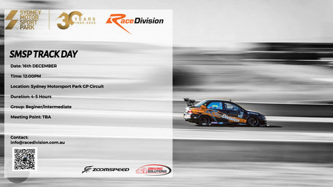 Race Division SMSP Track Day - 16th December