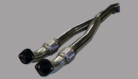 HKS, Stainless Centre Pipe R35 GT-R - Race Division
