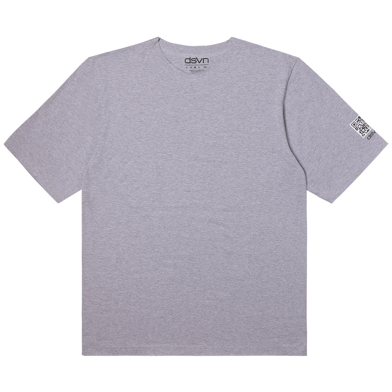Misty Grey Basic Oversize