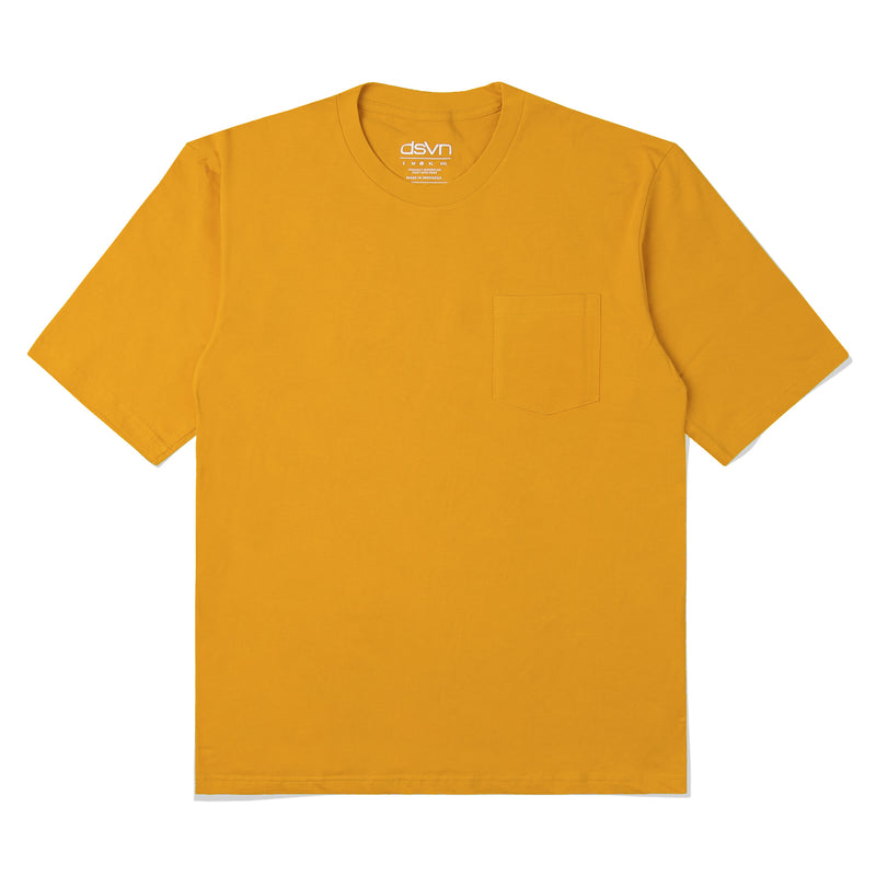 Yellow Basic Pocket Oversize