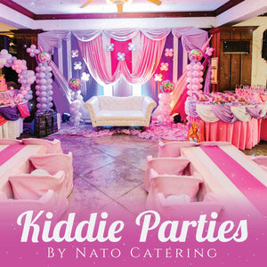 KIDDIE PARTY PACKAGES (100adults/20kids)