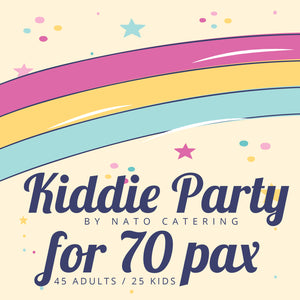 KIDDIE PARTY PACKAGES (45adults/25kids)
