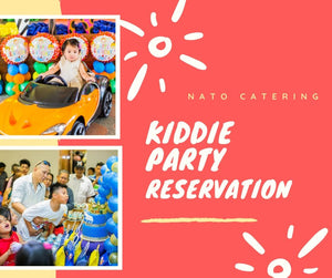 KIDDIE PARTY PACKAGE RESERVATION