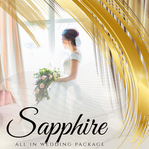 SAPPHIRE WEDDING COMPLETE PREMIUM PACKAGES