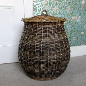 Barrel Linen Basket