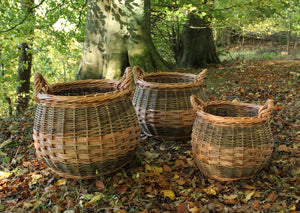 Curved Log Basket  - Large