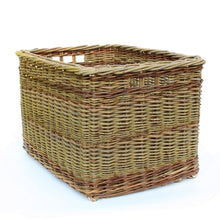 Load image into Gallery viewer, Rectangular Log Basket (Randed weave)