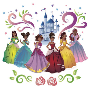 Princesses with Castle