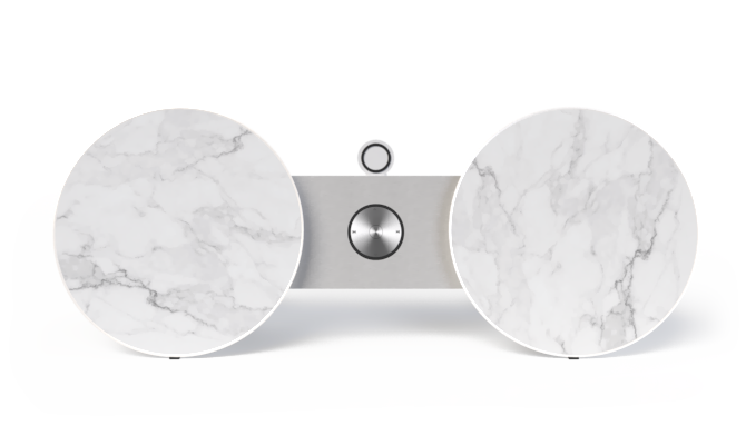 Marble cover for BeoPlay A8 and BeoSound 8 by Bang & Olufsen