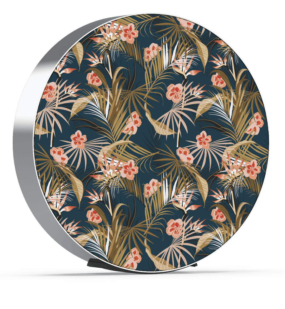 Skiniplay Fleur de Moeth cover for Beosound Edge by Bang & Olufsen