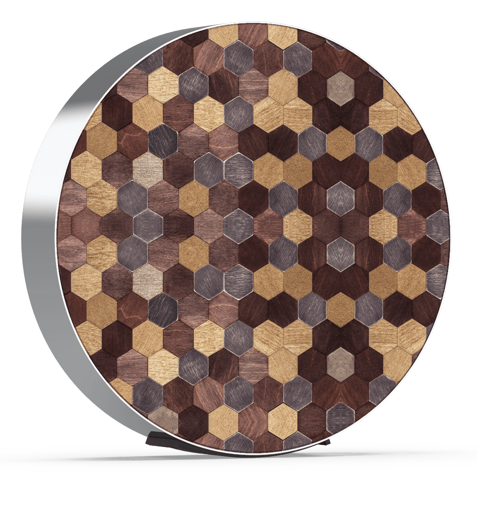 Skiniplay Hexa cover for Beosound Edge by Bang & Olufsen
