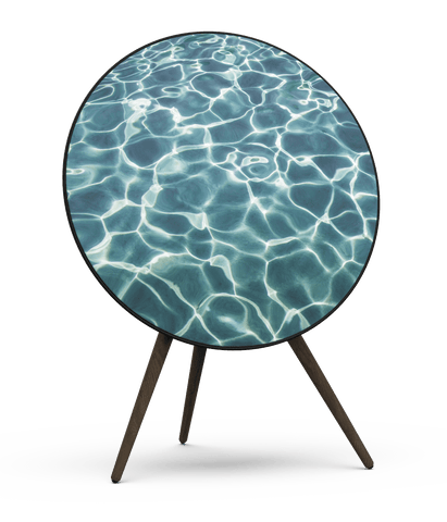 Skiniplay cover Nage Bleu for Beoplay A9 by Bang & Olufsen