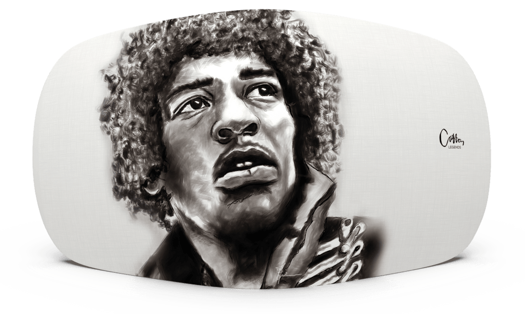 Skiniplay x Cotton Legends Jimi cover for Beoplay A6 by Bang & Olufsen