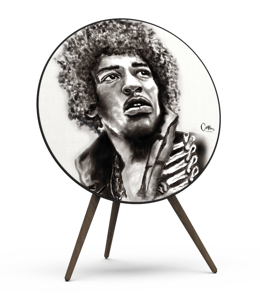 Skiniplay x Cotton Legends Jimi cover for Beoplay A9 by Bang & Olufsen