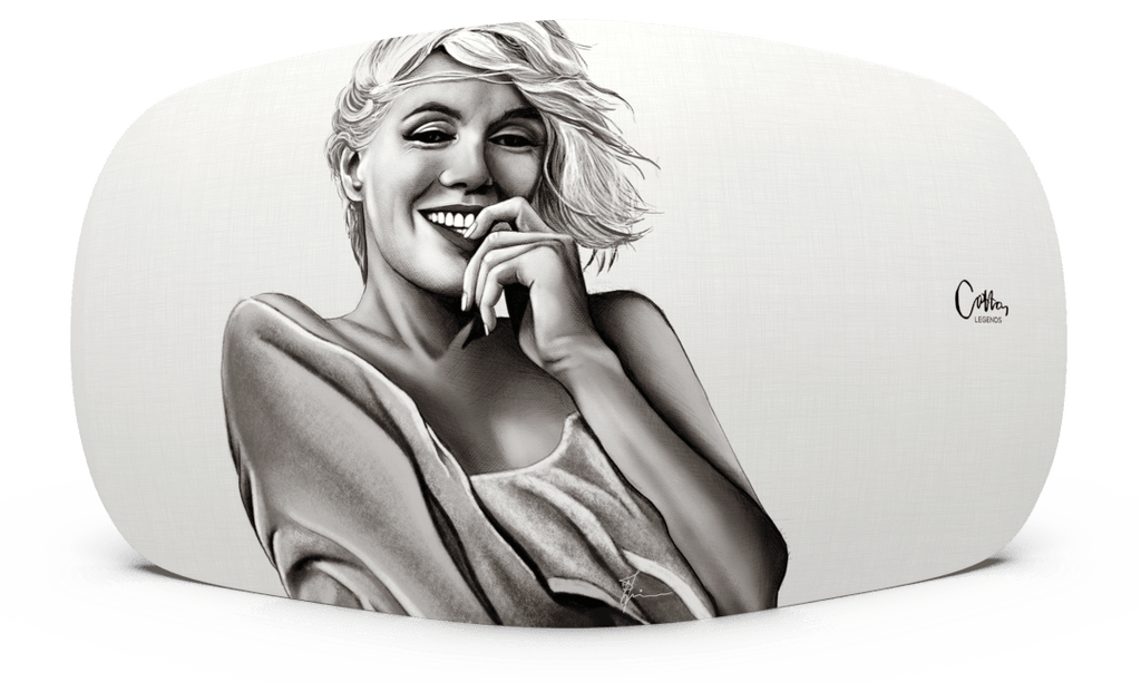 Skiniplay x Cotton Legends Marilyn cover for Beoplay A6 by Bang & Olufsen