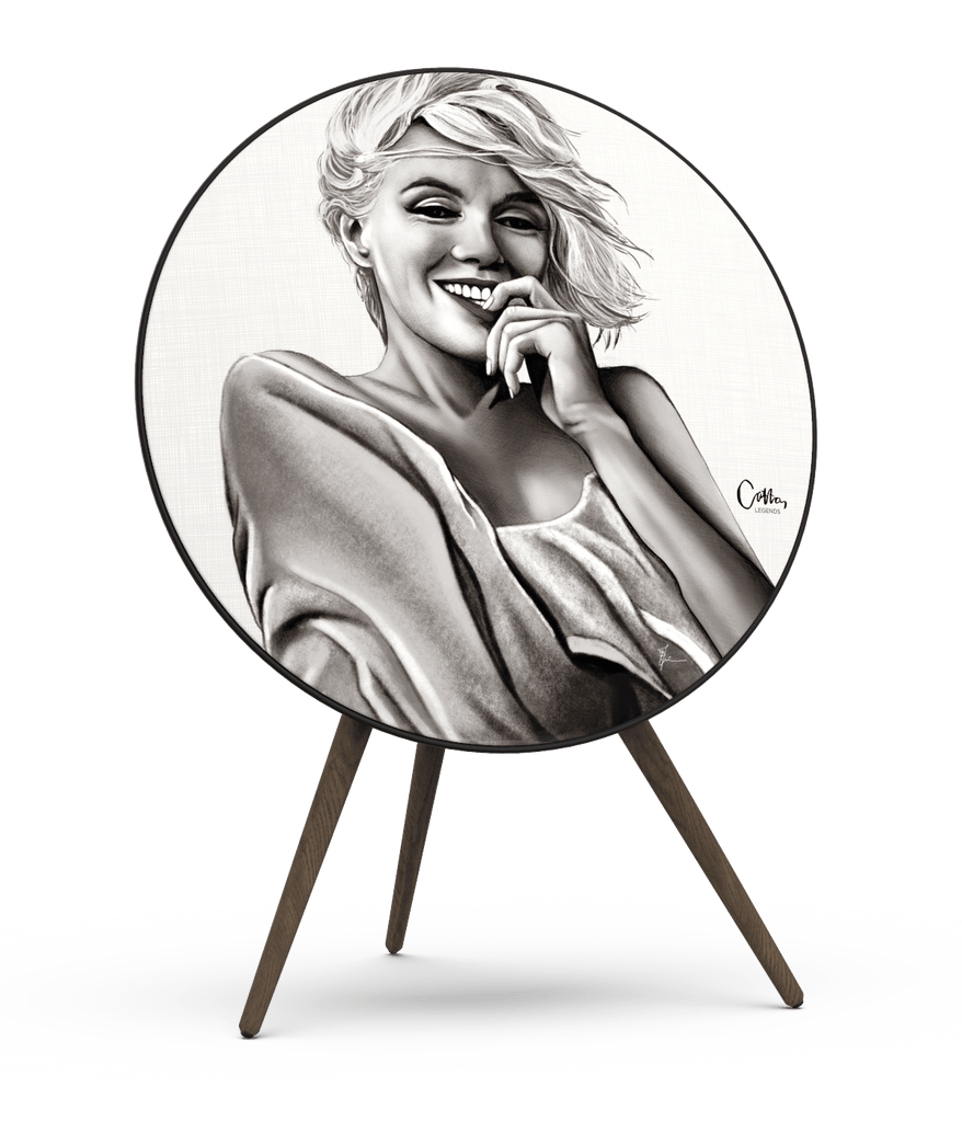 Skiniplay x Cotton Legends Marilyn cover for Beoplay A9 by Bang & Olufsen