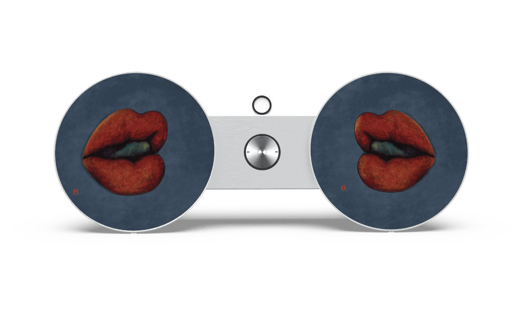SkiniPlay x Elizabeth Romhild Design Tête à Tête for Beoplay A8 or Beosound 8 by Bang & Olufsen