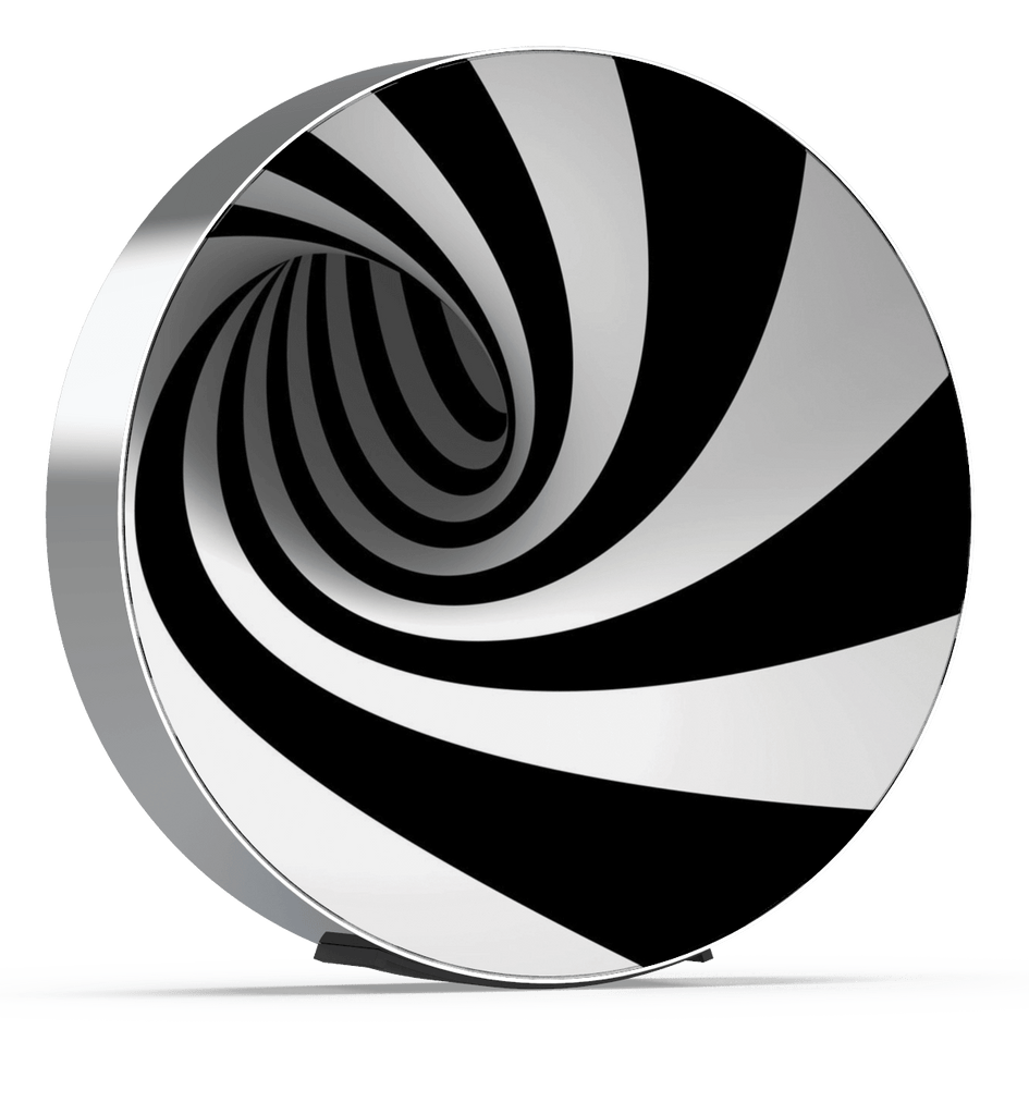 Skiniplay Spiral Decal cover for Beosound Edge by Bang & Olufsen