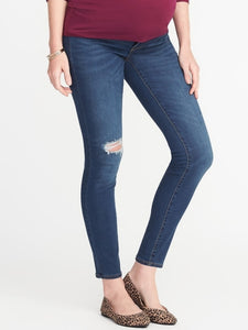 Jeans azul roto old navy 1