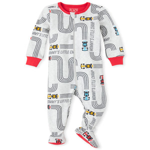 Pijama piecitos mommy's little champ 0-3 meses