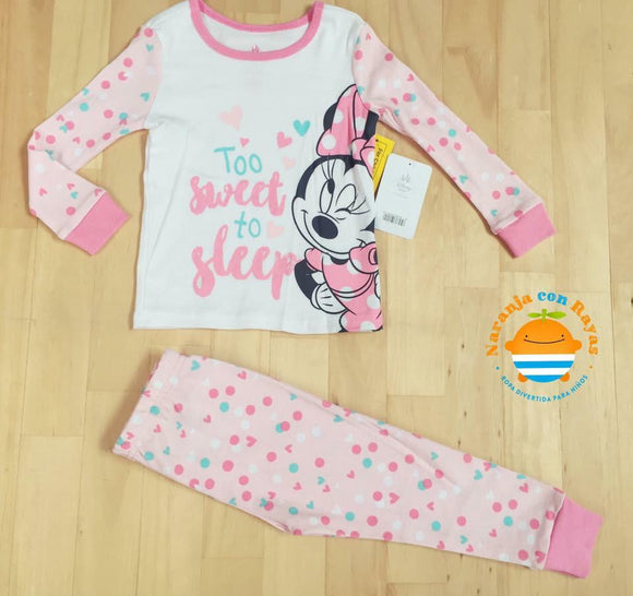 Pijama Minnie too sweet to sleep