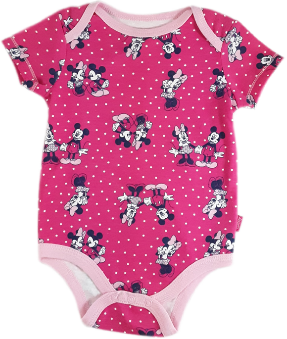 Mameluco Minnie y mickey  fucsia 6-9 meses