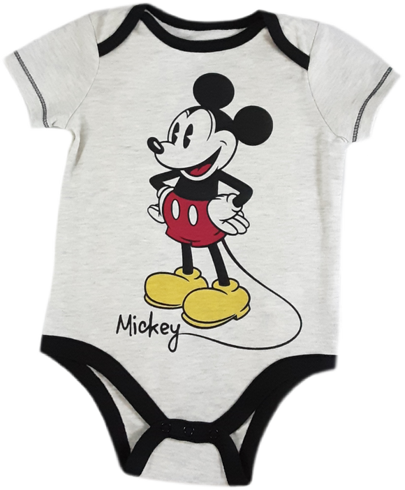 Mameluco  Mickey mouse gris