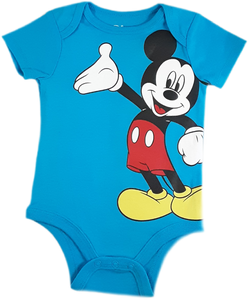 Mameluco Mickey mouse azul