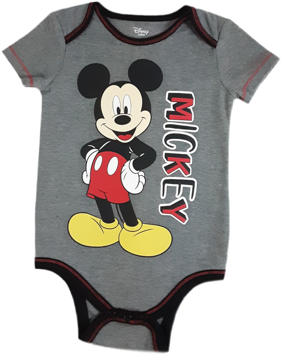 Mameluco mickey mouse gris 18 meses