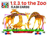 1, 2, 3, to the Zoo Flash Cards
