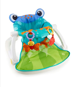 Asiento sit-me-up floor Fisher price diseño rana