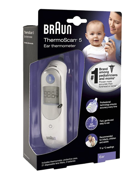 Braun TermoScan 5 Ear Thermometer