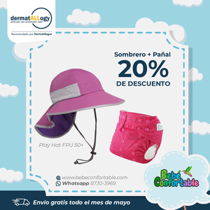 Oferta Play Hat Fucsia