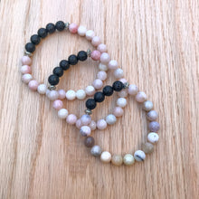 Australian Pink Opal Aromatherapy Essential Oil Diffuser Bracelet (8mm beads)