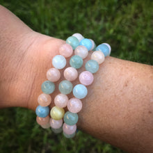 Beryl Aromatherapy Essential Oil Diffuser Bracelet (8mm beads)
