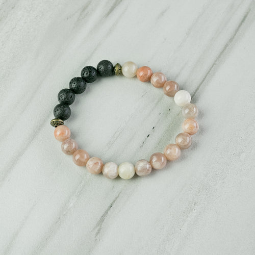 Sunstone Aromatherapy Essential Oil Diffuser Bracelet (8mm beads)