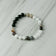 Moonstone and Botswana Agate Aromatherapy Essential Oil Diffuser Bracelet (8mm beads)